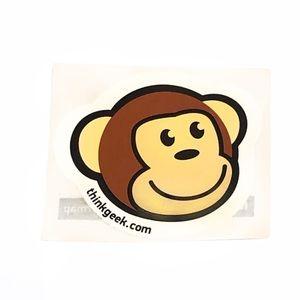 Think Geek Timmy The Monkey Sticker New